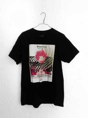 Neu! schwarzes Obey Shirt