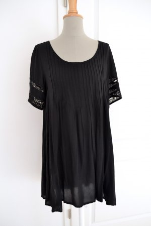 Neu schwarzes Tunika Kleid Ecote Amethyst Urban Outfitters M 36