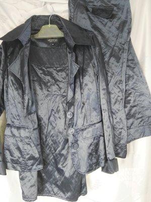 Neu! Sehr schickes Orginal Vestino Kostüm 3teilig in nachtblau, Gr. 38 !