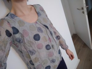 Blusa de seda multicolor Seda