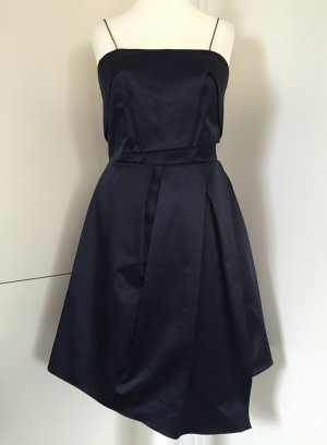 "NEU - Seidenglänzendes Kleid in ""Midnight Blue"" von Carven (NP 490,00 EUR)"