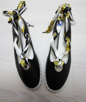 NEU Sergio Todzi Ballerina Sommer Schuhe Band zum binden chic