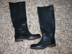 Neu! Shabbies Amsterdam Leder Stiefel ungefüttert Gr.37 LP:396€