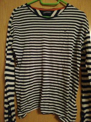 Tommy Hilfiger Camicia crema-blu scuro