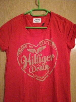 Tommy Hilfiger Camicia rosso scuro