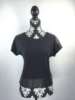 Neu!!!! Shirt mit Leder Applikationen