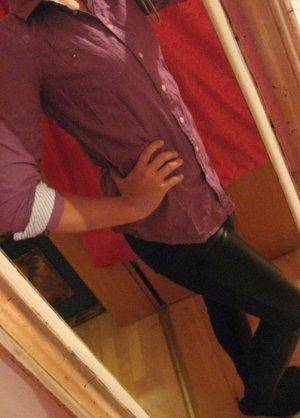 Neu Shirt Oberteil Bluse Baumwolle Hemd Tommy Hilfiger 36 38 One Shoulder