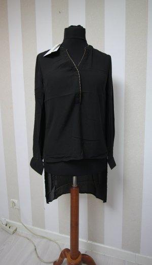 Camicia a tunica nero