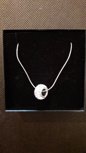 NEU Silberne Halskette mit Anhänger