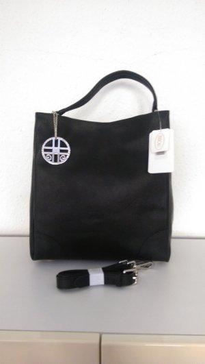 SIlvio Tossi Shoulder Bag black leather