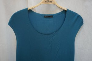 Sisley Robe t-shirt bleu pétrole viscose