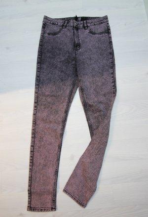 H&M Pantalone a sigaretta multicolore