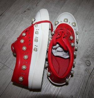 NEU Sneaker Schuhe mit Perlen Design
