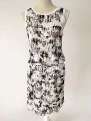 * NEU * Someday Kleid Sommerkleid M 38 Qerime weiß schwarz braun scandi style sommer