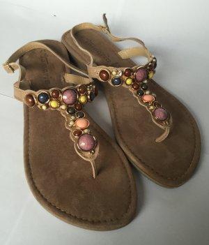 NEU - Sommer-Sandalen mit Schmucksteinen von Tamaris (Kollektion 2016)