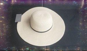 Orsay Sombrero de ala ancha crema