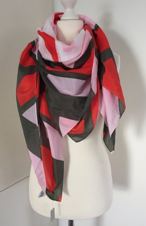 NEU - Sommerkollektion 2017: Mehrfarbiges XL-Tuch mit 40% Seide von COS