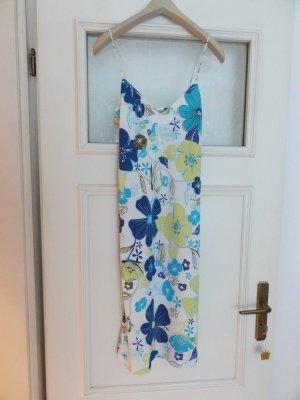 NEU sommerliches Trägerkleid mit floralem Design