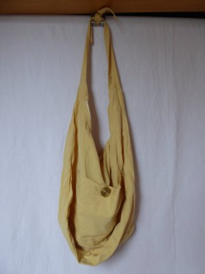 NEU: Sonnengelbe Stoff-Tasche