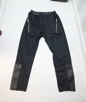 NEU Sportliche Hose Zipper Details Gr XL leicht high waist