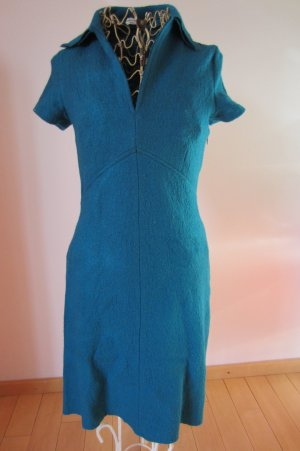 Polo Dress multicolored wool