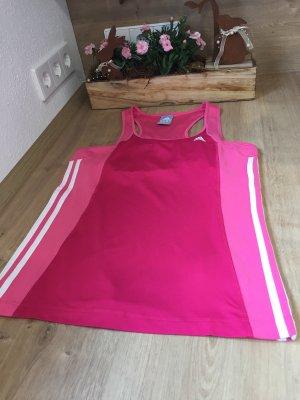 Adidas Top deportivo sin mangas rosa