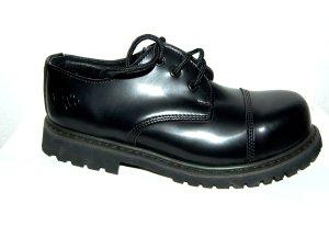 knightsbridge Chaussures à lacets noir cuir