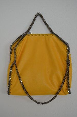 Neu! Stella McCartney Falabella Bag Tasche Shaggy Deer Gelb