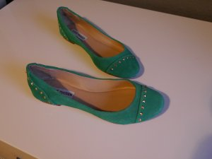 *NEU* Steve Madden Ballerinas mit Nieten grünes Leder