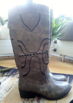 Neu! Stiefel von Tamaris, grau, Größe 38
