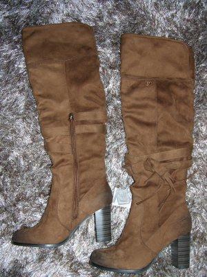 Neu! Stiefel von Tom Tailor Demim Gr. 37 Braun