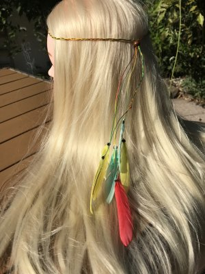 Hair Circlet multicolored