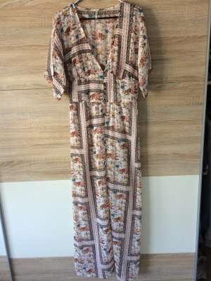 Stradivarius Hippie Dress multicolored