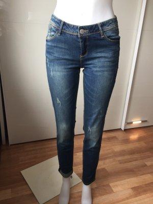 Promod Stretch Jeans dark blue