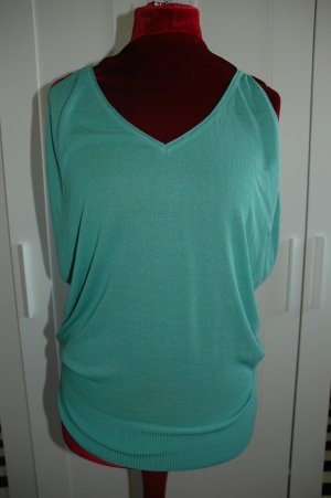 monnari Knitted Top turquoise