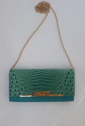 NEU! stylische Tasche Snake türkis