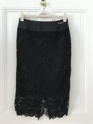 Airfield Pencil Skirt black polyester