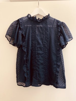 Clockhouse Blouse Top dark blue