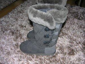 Stivale invernale grigio