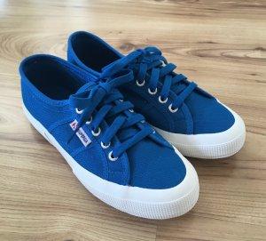 NEU Superga Cotu Classic Sneaker Blau 38 Ballerina Slipper Canvas Slipon Sport Schuhe