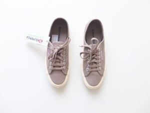 neu Superga Gr. 39 taupe beige grau sneaker stoffschuhe