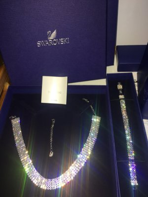 !Neu! Swarovski Kristall Choker & Armband