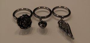 NEU! Swarovski Ring Set Größe 52