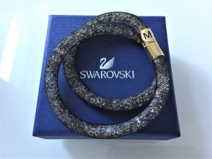 NEU Swarovski Stardust Double grey gold