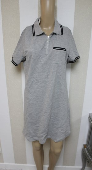 NEU T-SHIRT KLEID POLO CHIC