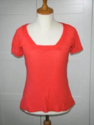 NEU, T-Shirt, Shirt, Streifen, Streifenshirt, gestreift, rot, H&M, Gr. 34/36