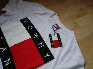 neu T-Shirt TOMMY HILFIGER weiß