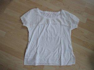 NEU! T-Shirt von Esprit Größe M Eierschalfarben