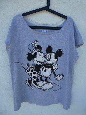 NEU – Takko  – Disney-T-Shirt, hellgrau mit Aufdruck