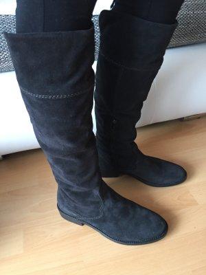 NEU Tamaris Leder Stiefel schwarz 39